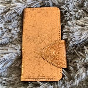 NWOT Patricia Nash phone case ID & credit cards S7